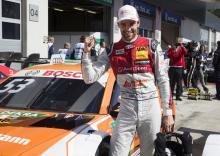Green takes narrow race one pole in Austria