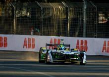 Di Grassi quickest in interrupted Mexico Formula E FP2