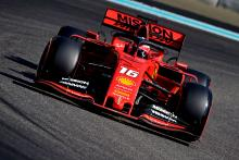 Leclerc ends Ferrari 2019 running with test crash