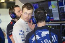 STR F1 boss: Kvyat 'had to live through a difficult time'