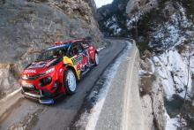 Ogier leads after trading stage wins with Neuville