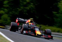 Gasly tops rain-hit Hungary FP2 as Albon crashes