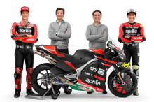 FIRST LOOK: Aprilia presents 2021 MotoGP machine, Savadori alongside Espargaro