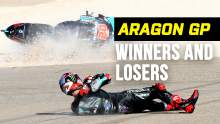 No wins, no problem for Joan Mir: Aragon MotoGP Winners & Losers