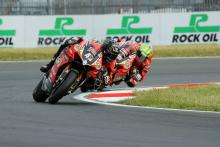 From warm-up fall to dominant Snetterton display for Redding