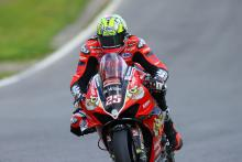 Brookes goes clear to lead Be Wiser Ducati 1-2 in FP2