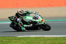 Buchan gets Kawasaki up to speed in warm-up