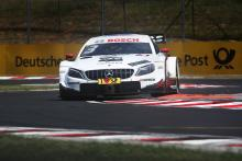Di Resta leads Mercedes 1-2 in opening Hungarian race