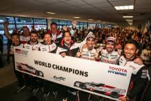 Toyota, Porsche celebrate WEC title success at Spa