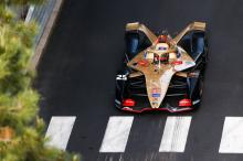 Vergne on Monaco E-Prix FE pole after Rowland penalty