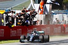 Hamilton goes lights-to-flag for Spanish GP win