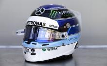 Bottas to use Hakkinen-inspired helmet at Monaco GP
