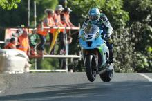TT 2018: Harrison and Dunlop light up Superbike practice