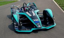 Jaguar launches I-TYPE 3 Gen2 Formula E car