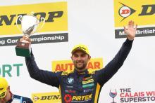 Jordan stays at BMW Pirtek Racing for 2019 BTCC