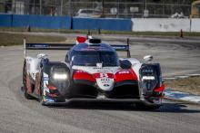 Toyota on-track at Sebring in preparation for WEC race