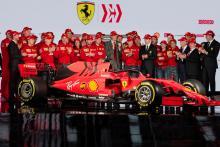 Ferrari reveals its 2019 F1 car