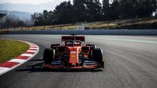 Ferrari's 2019 F1 car completes first track outing