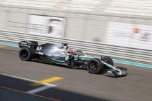 Russell completes 18-inch F1 tyre test for Mercedes