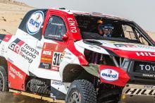 WATCH: Alonso rolls car twice in big Dakar Rally crash