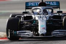 Hamilton and Mercedes fastest as F1 pre-season testing begins