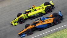 "Norris slams ""salty"" Pagenaud after virtual IndyCar crash"