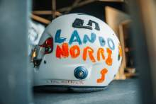 Norris to race with helmet designed by 6-year-old F1 fan at British GP