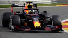 Verstappen leads Ricciardo in F1 Belgian GP second practice