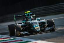 Hughes wins frenetic F3 race at Monza, Piastri taken out