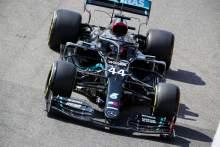 Hamilton mengalahkan Bottas untuk meraih pole position di F1 Tuscan GP