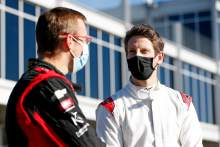 "Grosjean still sore but ""really happy"" with IndyCar test debut"