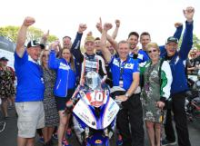 TT 2018: Hickman salutes maiden success after Superstock thriller