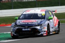 Ingram tops BTCC test at Silverstone