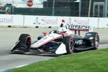 Perfect timing on pit road vaults Newgarden to Detroit Race 1 win