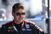 Mistake costs Will Power shot at Long Beach podium