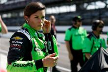 Danica Patrick joins NBC Sports for Indianapolis 500 broadcast