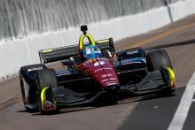 Wickens takes debut IndyCar pole at St. Petersburg