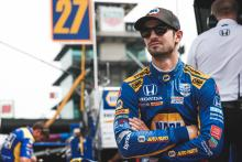 Alexander Rossi overcomes dramatic 500 to finish second