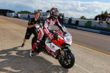 Hopkins frustrated by Thruxton tyre woes