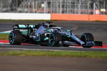 Mercedes F1 reveals W10 car with fresh livery