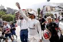 Hamilton dedicates 'one of his best' F1 poles to Lauda