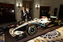 Mercedes reveals new livery in INEOS partnership