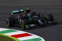 Bottas doubles up in F1 Tuscan GP FP2, Norris crashes