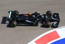 Valtteri Bottas fastest again in F1 Russian GP second practice