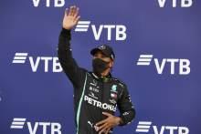 Hamilton tidak sejajar dengan hebat F1 Fangio dan Clark - Stewart