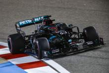 Mercedes F1 sub Russell fastest again in Sakhir GP FP2, Bottas only 11th