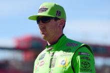 Kyle Busch prevails in one-lap dash to win opening Auto Club stage
