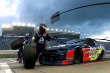 Alex Bowman ponders what if after second place run at Kansas