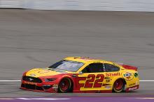 Joey Logano edges Aric Almirola for Michigan pole