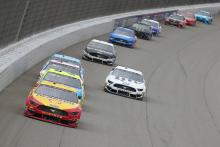 Joey Logano trimphs in overtime finish of Firekeepers Casino 400